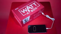 Avec Watt A Box, KFC charge votre mobile