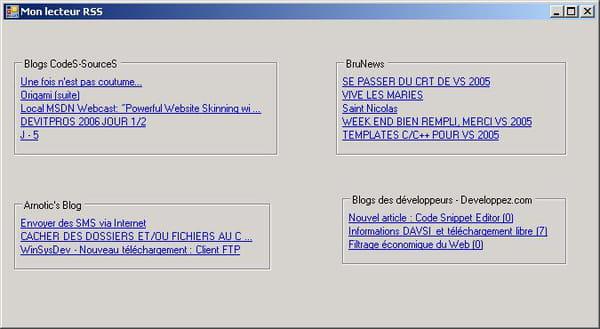 C C C Net Lecteur Rss Usercontrol Net C Cli Codes
