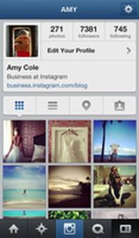 Instagram permet d'identifer les profils de membres sur les images