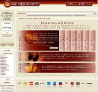 Un site de téléchargement entièrement dédié à la musique classique