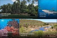 Voyager avec des visites interactives sur Google Earth