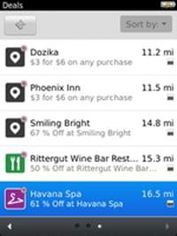 L'échange de données NFC disponible sur BlackBerry OS 7.1