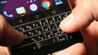 Grand retour du clavier sur Blackberry