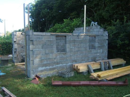 Je veux construire mon garage comment faire r solu - Construire un garage en parpaing soi meme ...