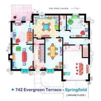 Les plans des appartements de vos séries préférées sur Pinterest