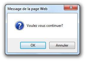 Javascript Les Boites De Dialogue