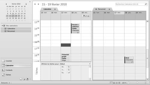 Calendrier Case.Outlook Creation De Calendriers Supplementaires