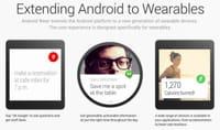 Google : Android Wear, un système d'exploitation adapté aux objets connectés