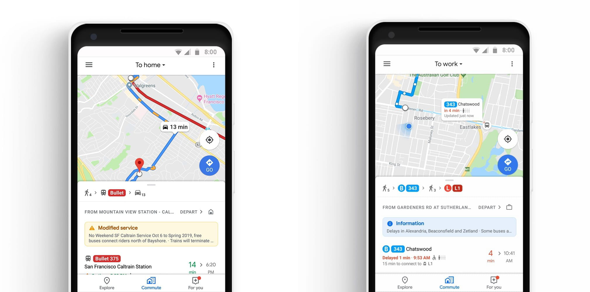 Google Maps facilite le quotidien