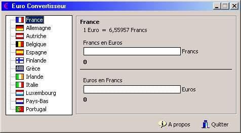 Doivent D Avoir Un Outil De Précision Pour Convertir L Euro Par Rort Aux Monnaies Origine Chaque Pays Européen Le Logiciel Convertisseur