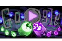 Google Doodle : un jeu multi-joueurs spécial Halloween