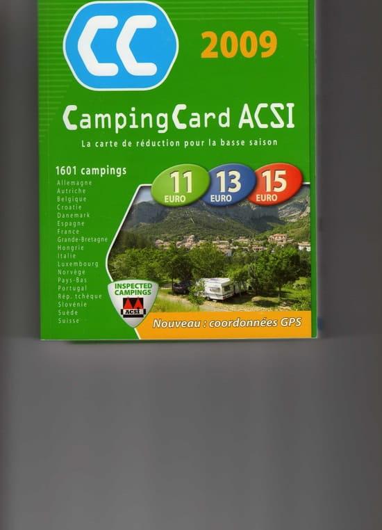 ou acheter la carte acsi Amis Camping caristes, bonjour. Connaissez vous la carte ACSI