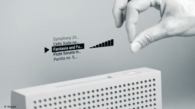 Contrôler les objets par geste, l'incroyable projet de Google