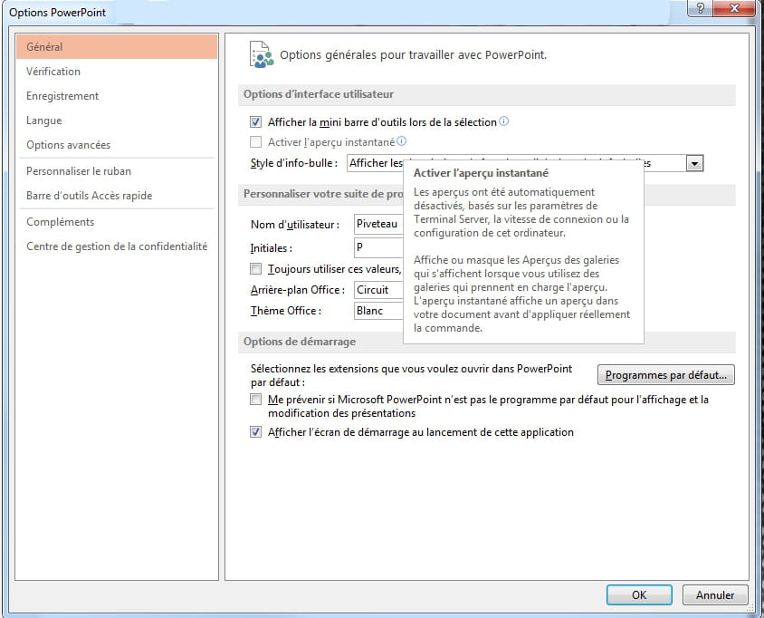 Active L Apercu Instantane Microsoft Office Forum Office 365