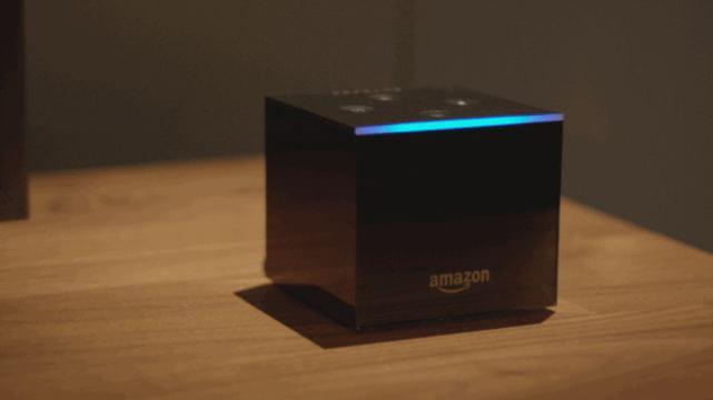 Amazon présente la Fire TV Cube