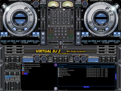 table de mixage virtuel pc