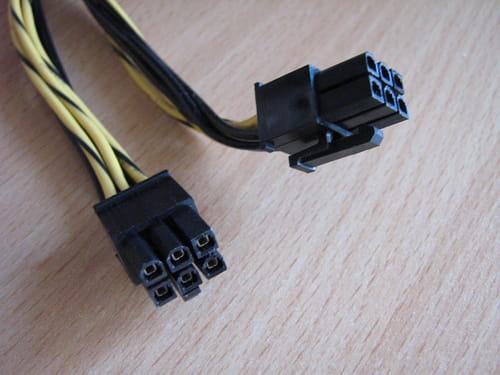 texture nette moitié prix la moitié Reconnaitre les connecteurs de mon alimentation