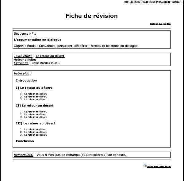 Bien-aimé PHP : Faire des fiches pour le bac français (oral) - CodeS SourceS OB09