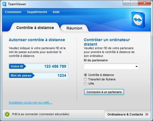 Télécharger TeamViewer Portable (gratuit)