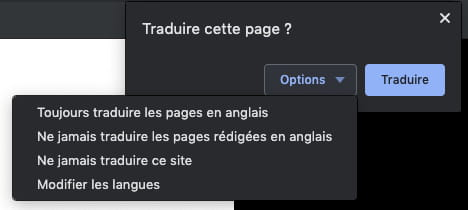Gérer les options et les notifications de traduction de Google Chrome GOOGLE-TRAD-6