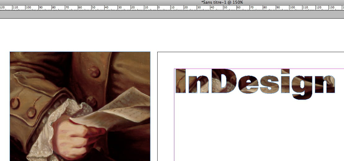 mode de premier ordre livraison gratuite conception adroite Insérer une image à l'intérieur d'un titre sous indesign ...