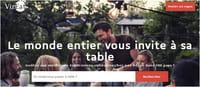 VizEat remplace Airbnb le temps d'un repas