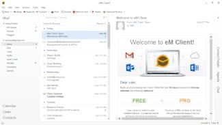 Choisir la messagerie du menu Démarrer - Windows XP
