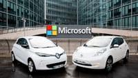 Renault-Nissan s'allie à Microsoft