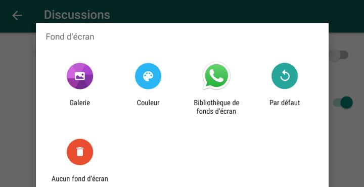 Personnaliser Le Fond D Ecran De Whatsapp