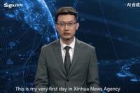 L'IA chinoise qui présente le JT