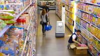 Des robots dans les magasins Walmart