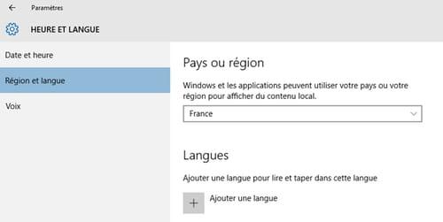 <b>Changer</b> de <b>langue</b> <b>sous</b> <b>windows</b> <b>10</b>