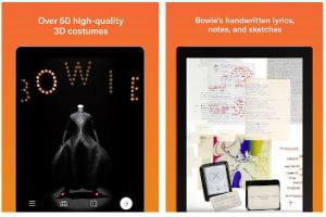 « David Bowie Is »… dans nos cœurs et aussi dans nos smartphones