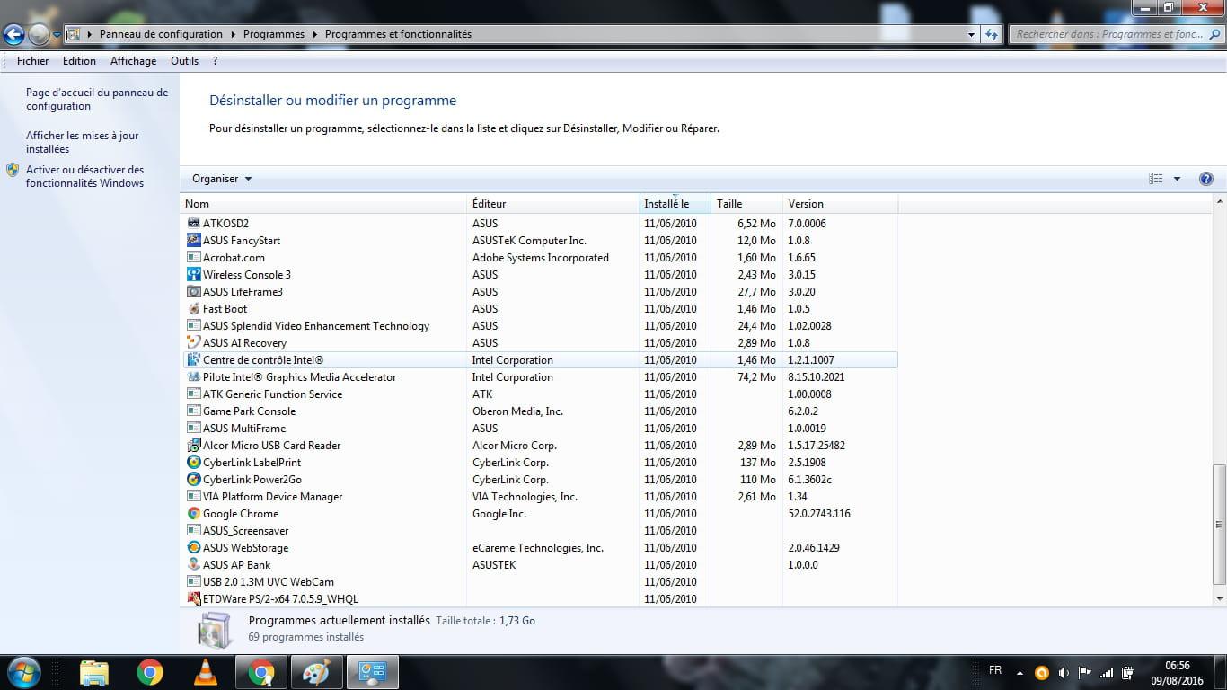Sous Windows 7, ce dossier est parcouru au démarrage de Windows et tous les fichiers qui s'y trouventToutes les applications sous Windows ont un exécutable qui est au format