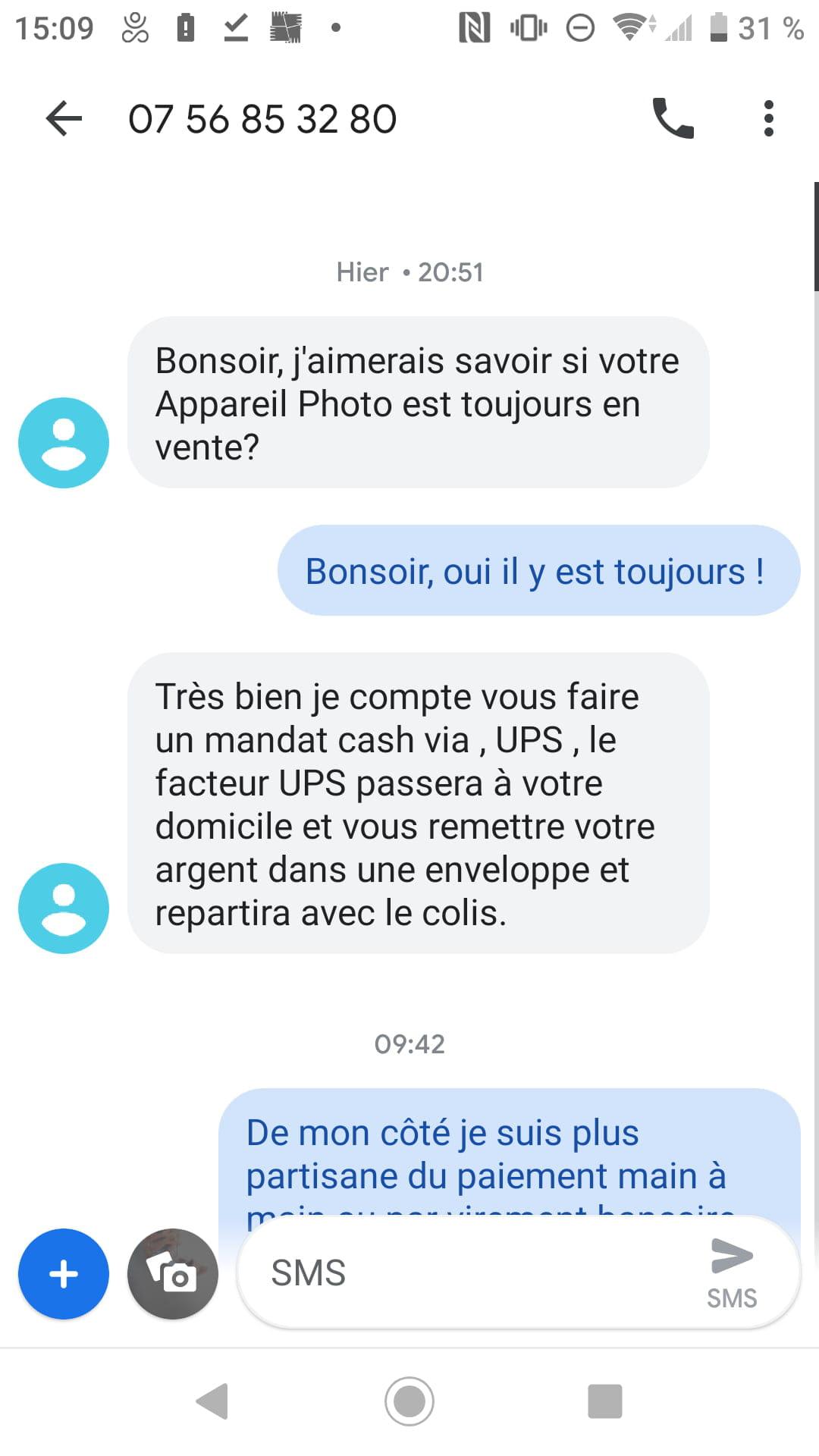 en ligne rencontres SMS escroqueries
