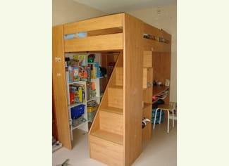 qui autait la notice de montage du lit mezzanine montana de chez. Black Bedroom Furniture Sets. Home Design Ideas