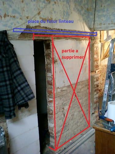 comment mettre un linteau dans un mur porteur forum construction et r novation. Black Bedroom Furniture Sets. Home Design Ideas