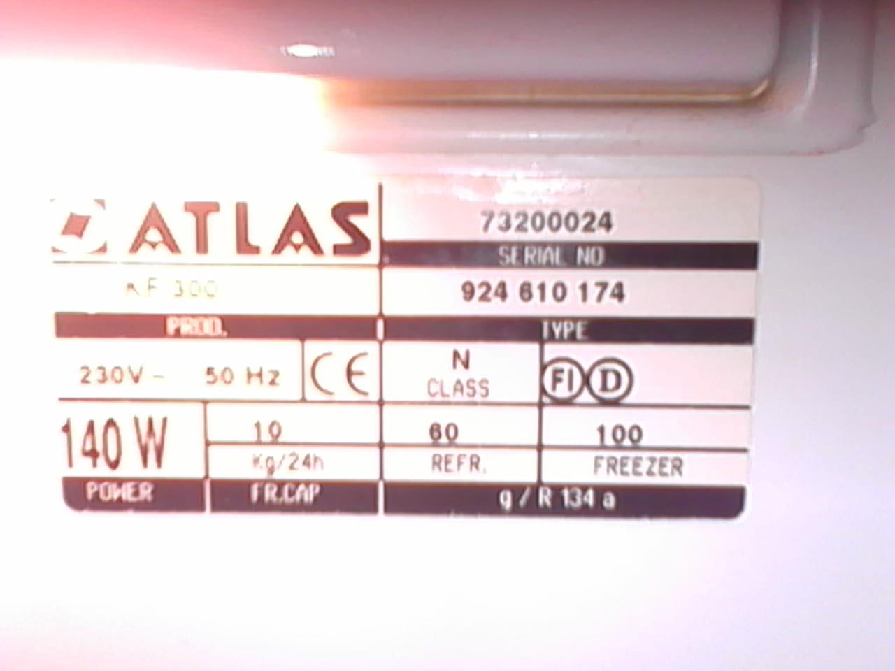 r glage thermostat frigo atlas r solu electrom nager. Black Bedroom Furniture Sets. Home Design Ideas