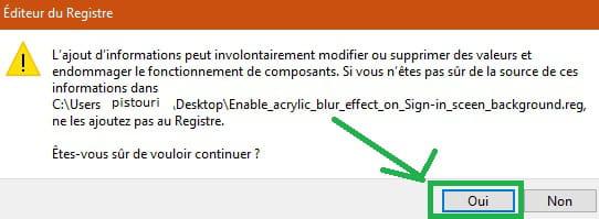 Desactiver L Arriere Plan Flou Sur L Ecran De Connexion Windows 10 May 2019 Comment Ca Marche