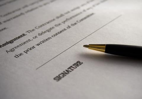 Signer un document sur iPhone ou iPad