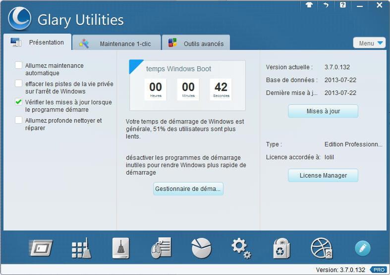 Logiciels de nettoyage PC (logiciels gratuits)