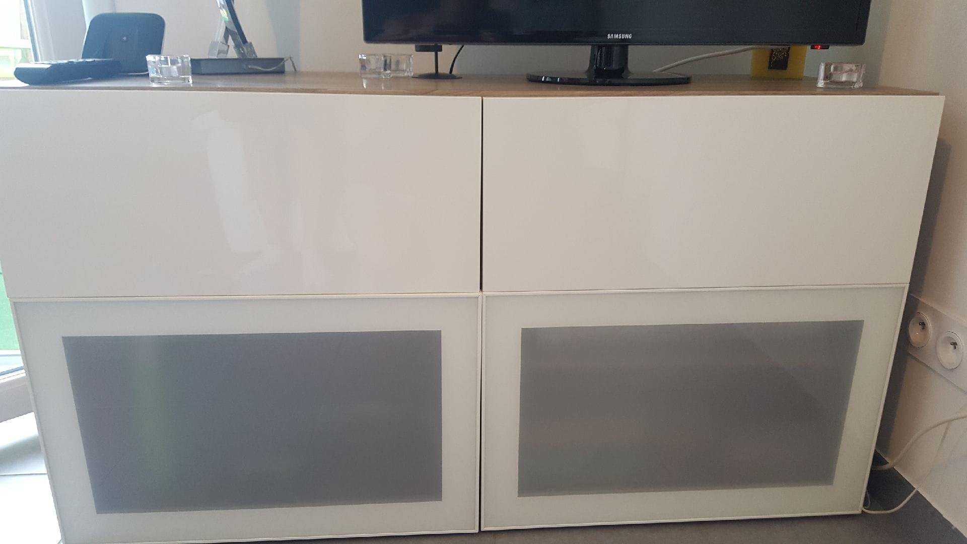 Meuble Tv Colonne Ikea pb portes et tiroirs non alignés ikea - linternaute