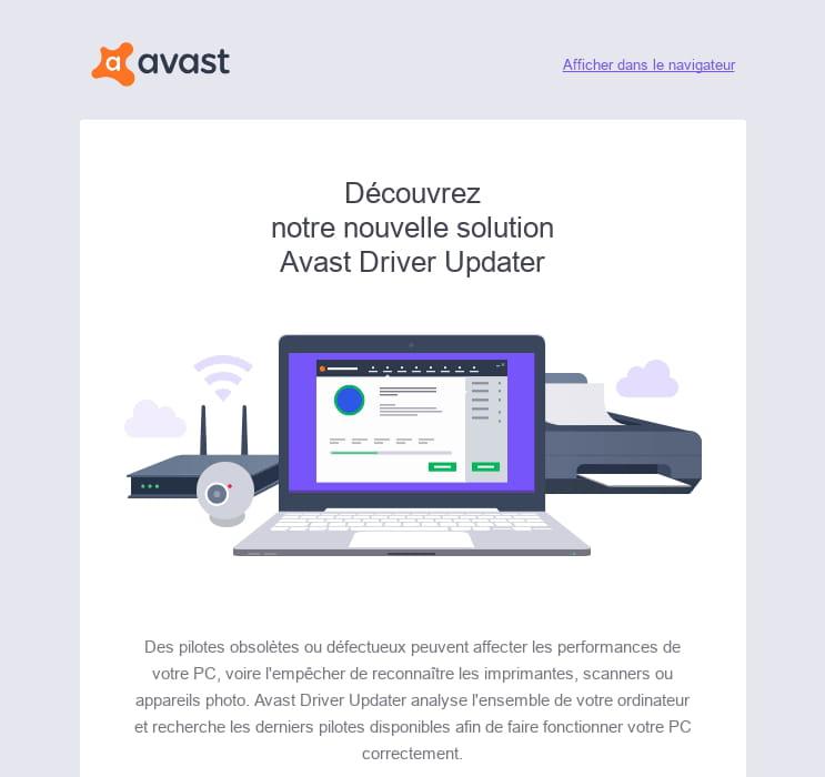 avast driver updater registration key 2017