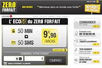 Zero forfait propose sa première offre éligible au tarif social mobile