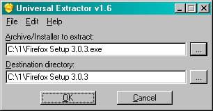 UNIVERSAL GRATUITEMENT TÉLÉCHARGER EXTRACTOR 1.6.1