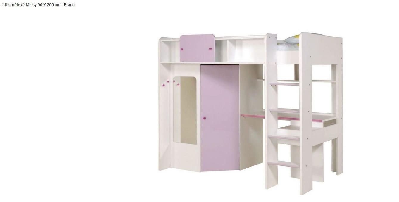Notide de montage lit mezzanine combiné missy - Linternaute.com
