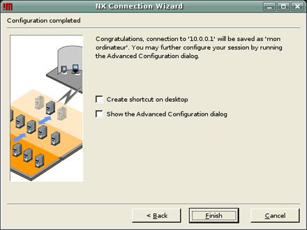 Installer nx server - Debian bureau a distance ...
