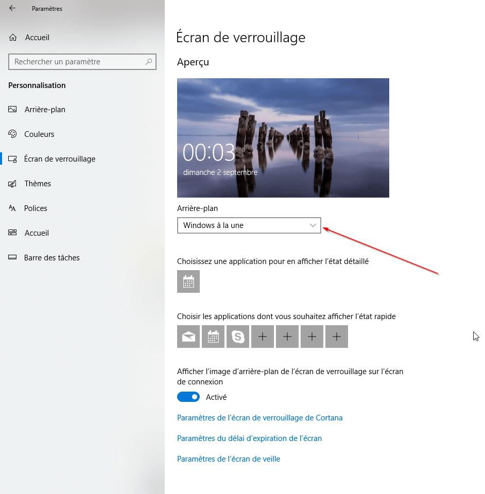 Changer Fond D Ecran Verrouillage Ordi Windows 10 Comment Ca Marche