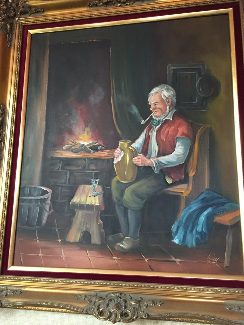 Nettoyer Un Vieux Tableau identification d'un peintre d'apres tableau et signature