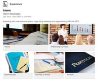 LinkedIn permet d'ajouter des images, vidéos et présentations sur son profil